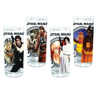Star Wars 10 oz. Glasses