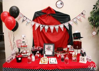 Magic Party Table Decorations by Renees Soirees