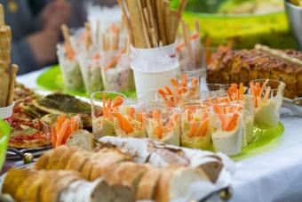 finger food buffet