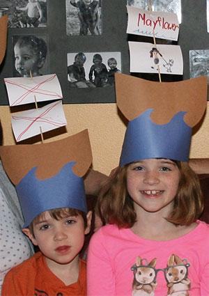 Mayflower hats