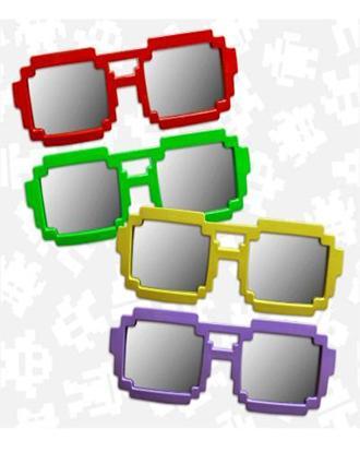 Pixel Mirrored Sunglasses