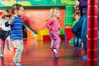 Children playing Simon Says