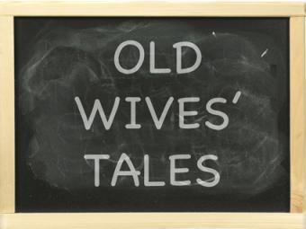 Old Wives' Tales Chalkboard
