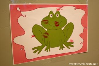 Frog kisses