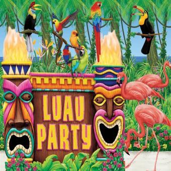luau party kit
