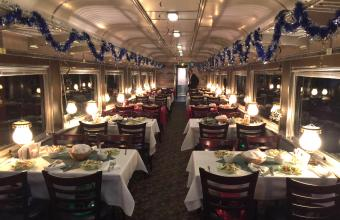 New Years Eve Party Train Rides