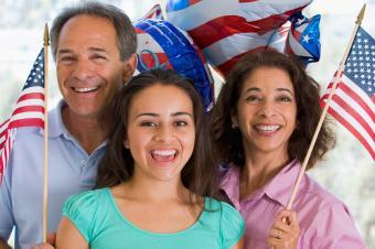 Patriotic Party Invitations