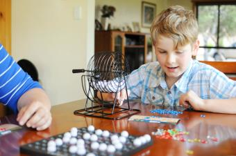 Bingo family board game