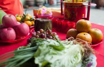 Chinese praying table
