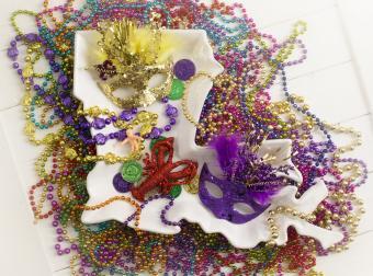 Louisiana Mardi Gras Decoration