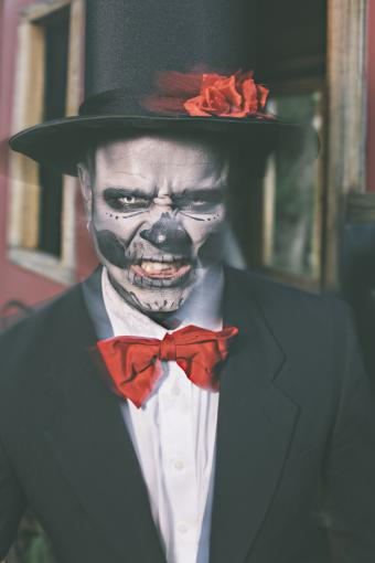 Voodoo costume for Mardi Gras