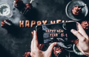 Creative Ideas for a New Year's Eve Celebration Online