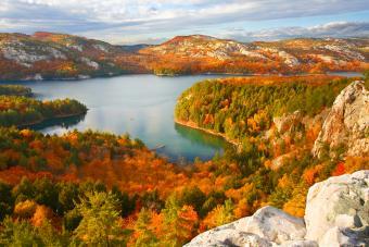 Killarney Lake at fall