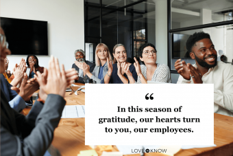 Thanksgiving Wishes for Coworkers and Business Associates
