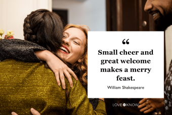 Shakespeare Thanksgiving quote