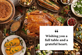 Thanksgiving Message to Share Online