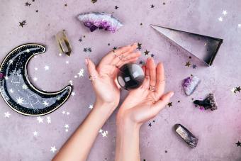Magic crystals for rituals