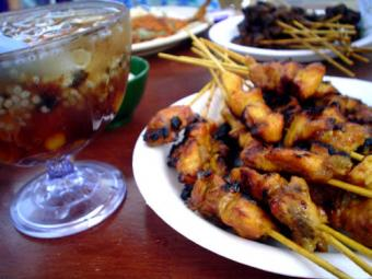 Luau Party Finger Foods