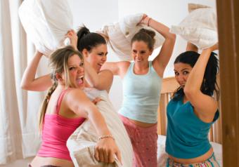 Things to Do at a Slumber Party