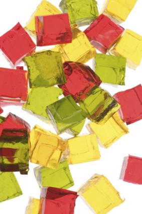Jello cubes; copyright Tracy Hebden at Dreamstime.com