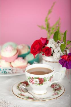 Country chic tea