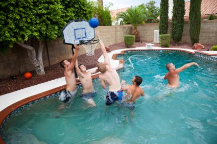 Teenage Pool Party Games