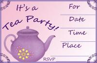 Lavendar Invite