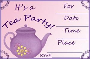 lavender invitation