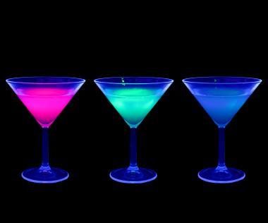 Glowing drinks