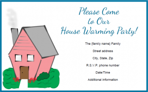 Housewarming Invitation LoveToKnow