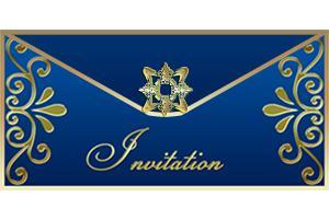 Click to print the elegant invite.