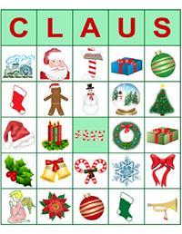 claus bingo
