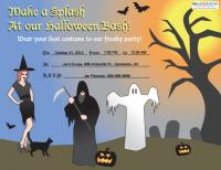 Costume Party Invite