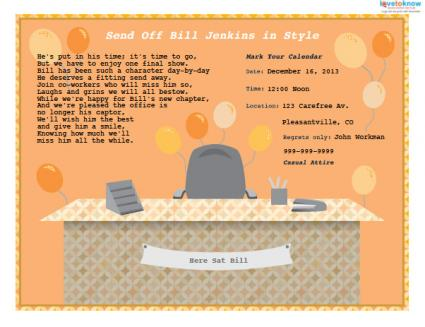 Retirement party invitations funny retirement party invitation stopboris
