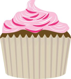 chocolate cupcake clip art