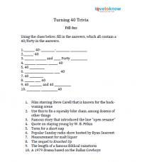 Print Fill In The Blank Trivia Clues