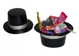 top hat favor holders