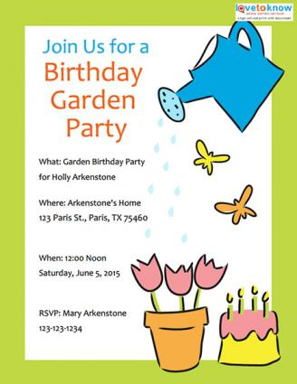 Click To Download The Birthday Invite