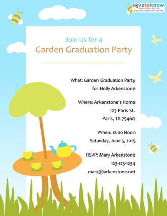 Click to download the graduation invite.