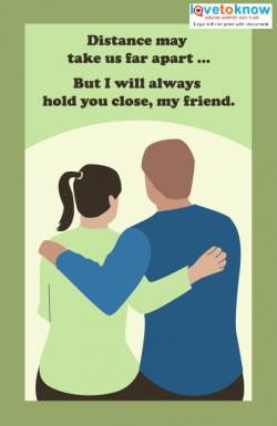 Printable farewell cards lovetoknow click to print the friend card m4hsunfo