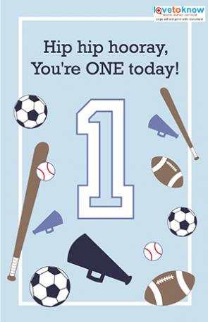 Click To Download The Sports Themed Card