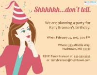 Surprise Birthday Party Invitation Wording Lovetoknow
