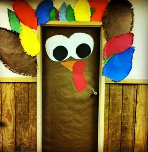 Turkey Door Decoration