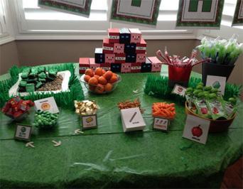 Minecraft Food Table