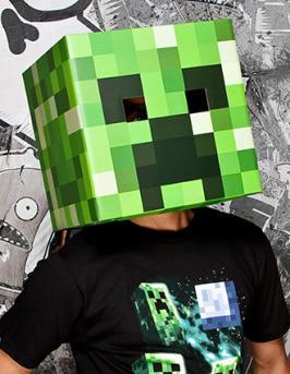 Minecraft Creeper Head Mask