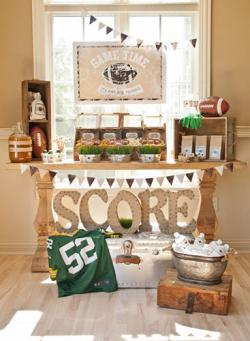 Football party printables at Anders Ruff