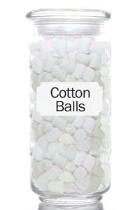 'Cotton Ball' Jar