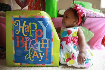 Baby Birthday Girl