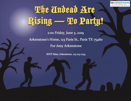 Click to print the undead invite.