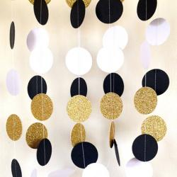 Great Gatsby Themed Garland from Spice and Sprinkle